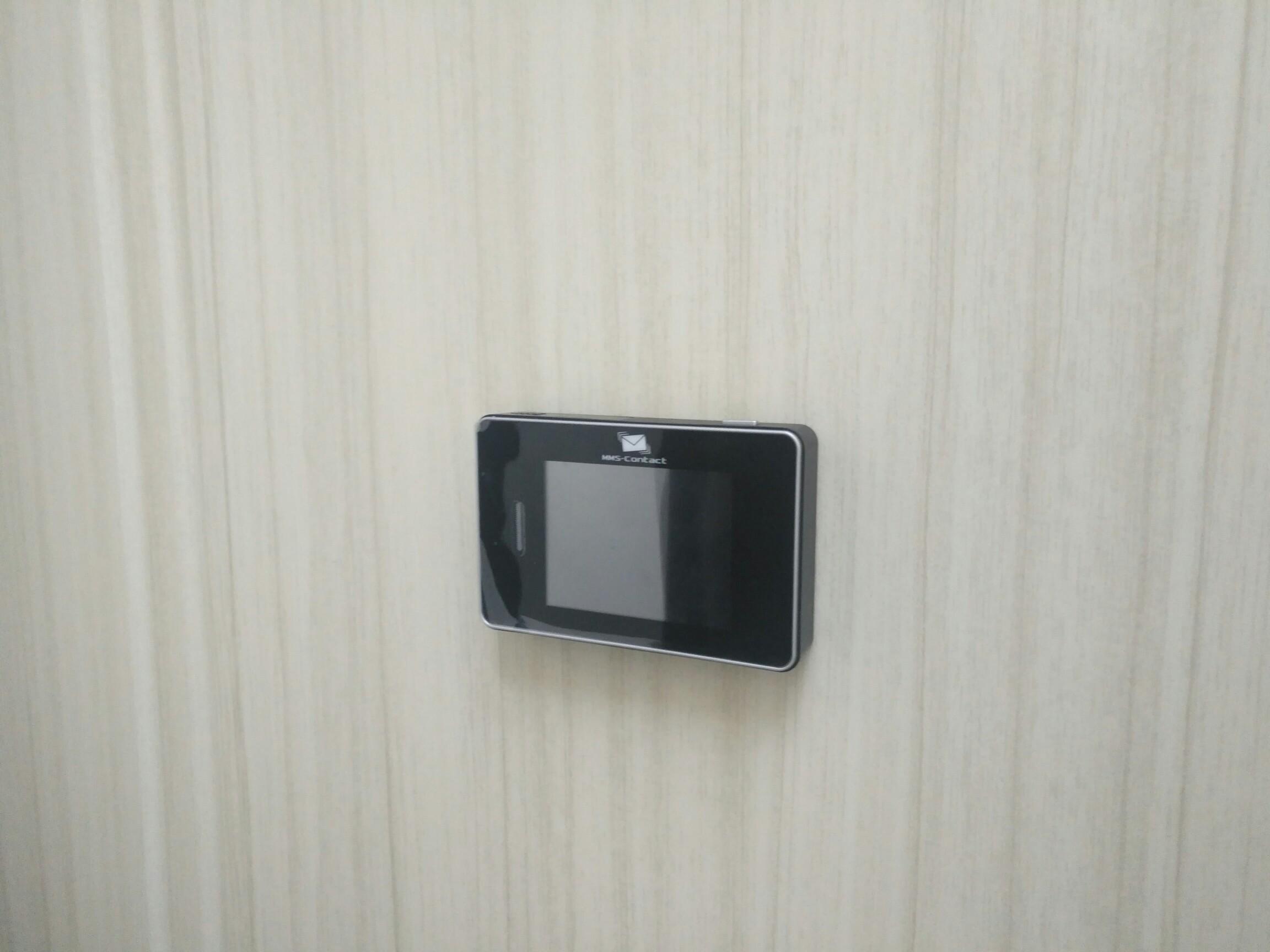 Установка видеглазка на металлическую дверь в Чебоксарах